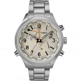 TIMEX IQ WORLD TIME TW2R43400